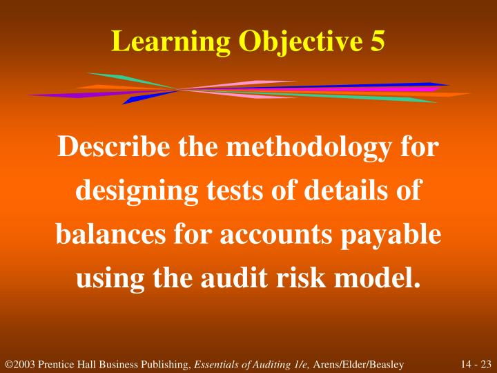 discuss the methodology for designing tests of details of balances for inventory Tests of control and substantive testing come up in the principles of audit and reporting course, and are a topic that can sometimes be confusing in this short article we set out the key differences between the two tests.