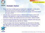 example games