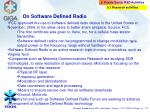 on software defined radio