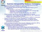 seamless interoperability handover convergence