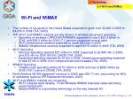wi fi and wimax