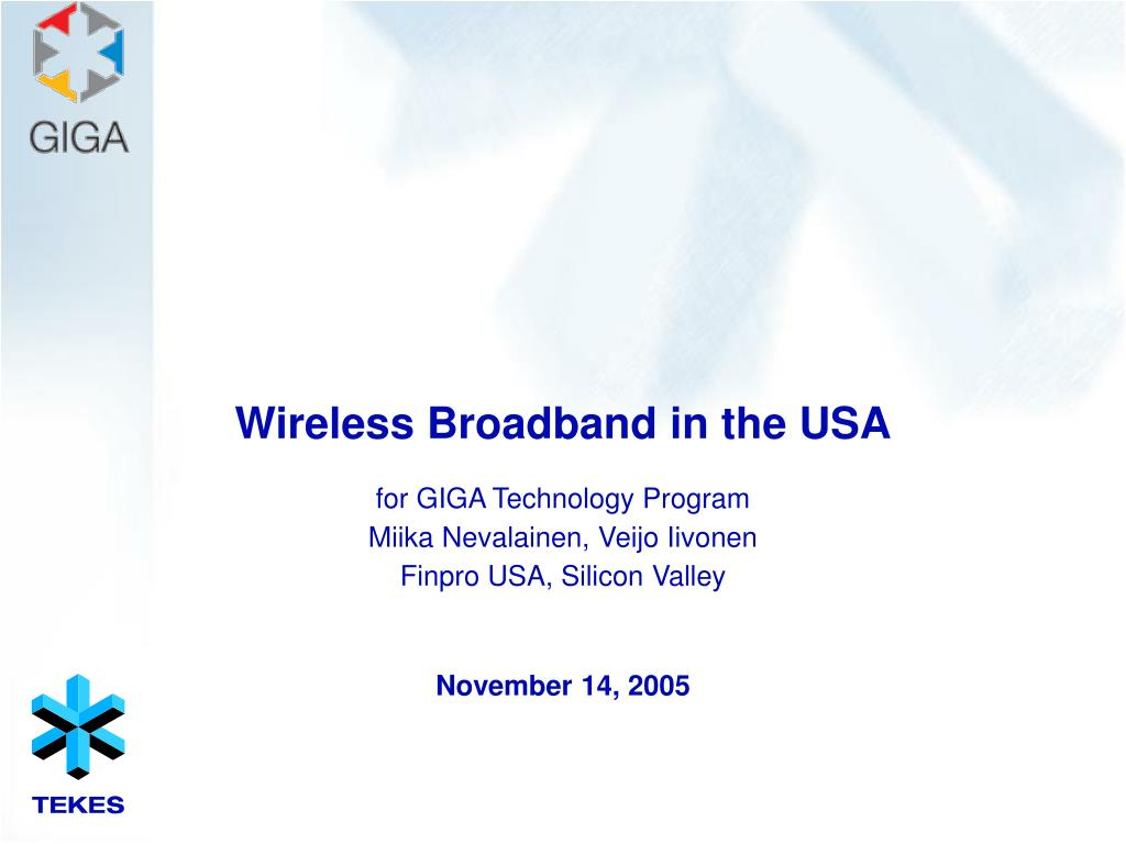 wireless broadband in the usa l.
