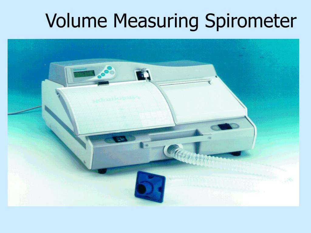 Volume Measuring Spirometer
