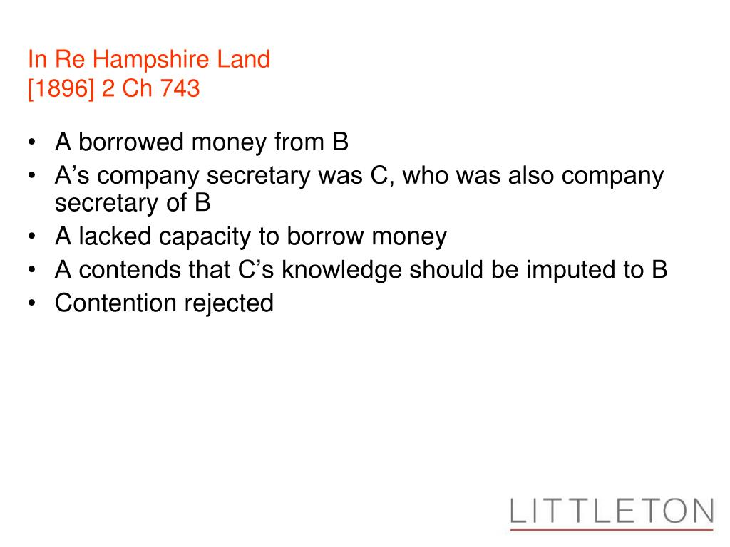 In Re Hampshire Land