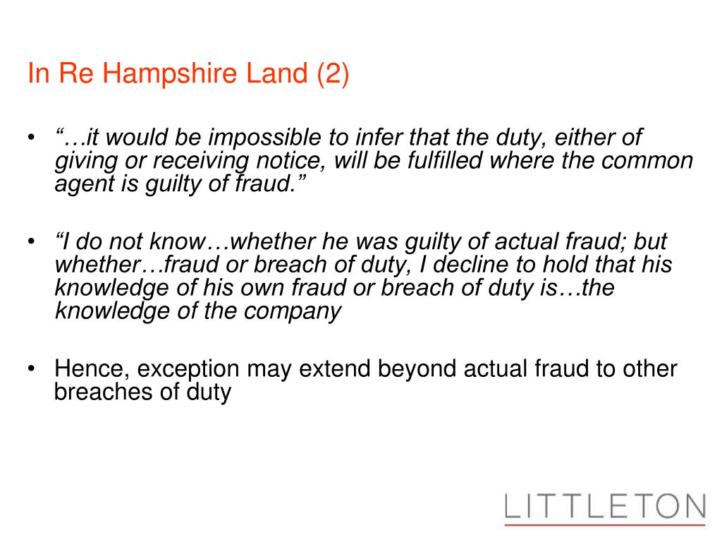 In Re Hampshire Land (2)