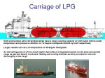 carriage of lpg