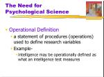 the need for psychological science5