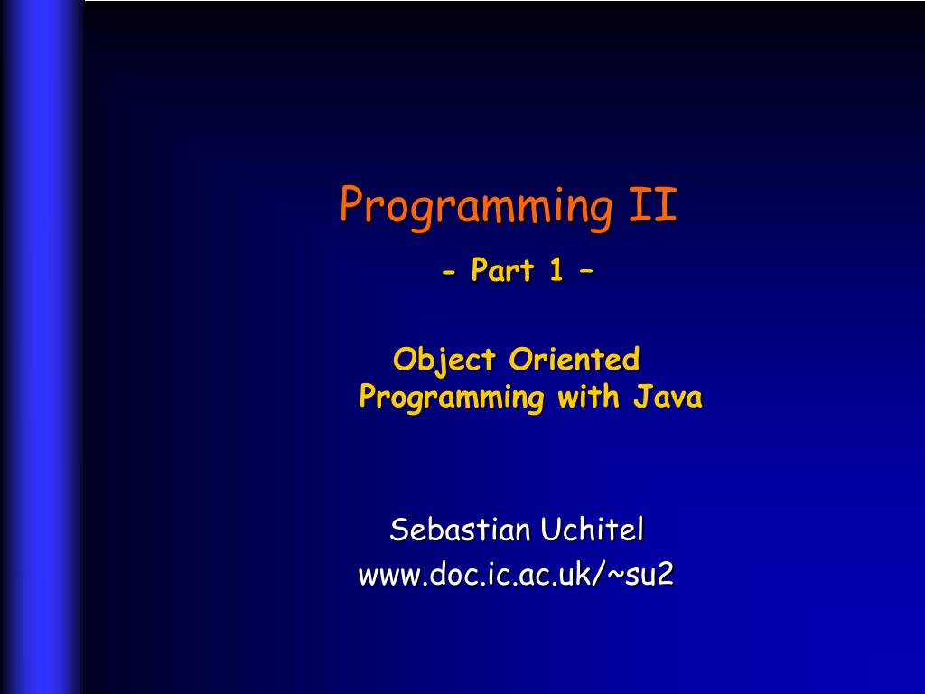 programming ii l.