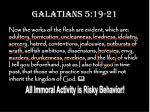 galatians 5 19 2119