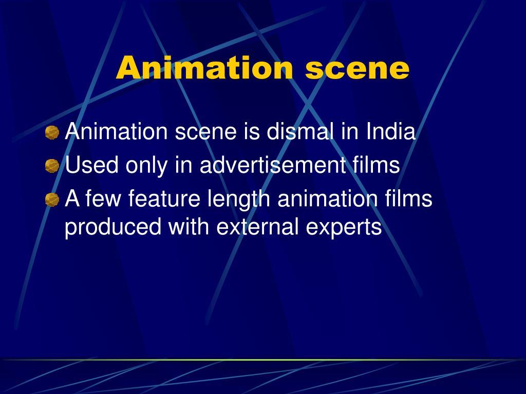 Animation scene