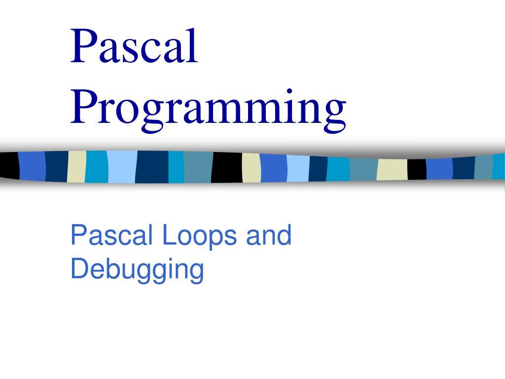 pascal programming l.
