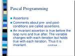 pascal programming11