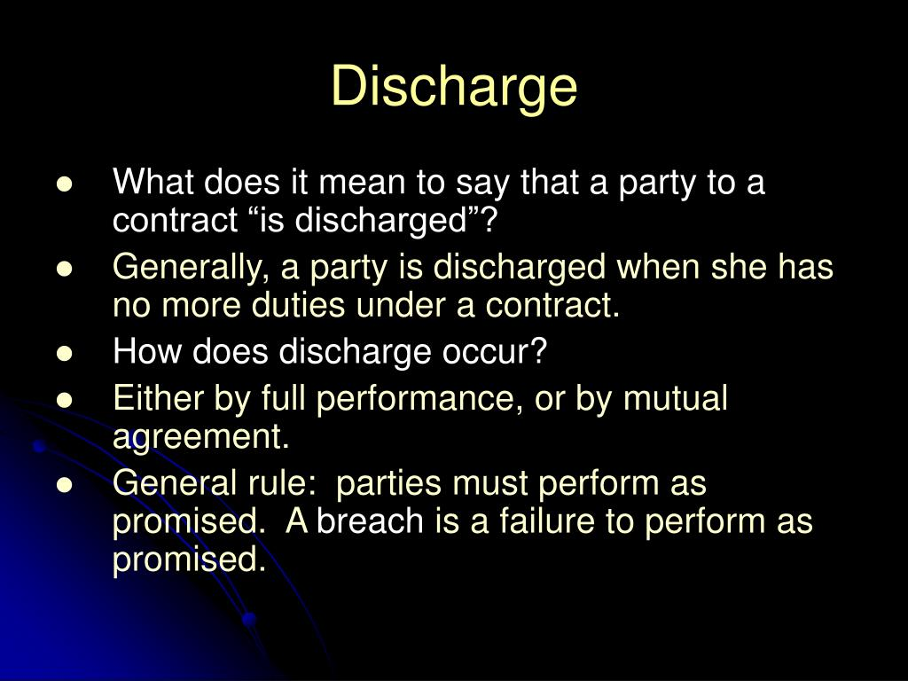 Ppt Discharge Powerpoint Presentation Id262985