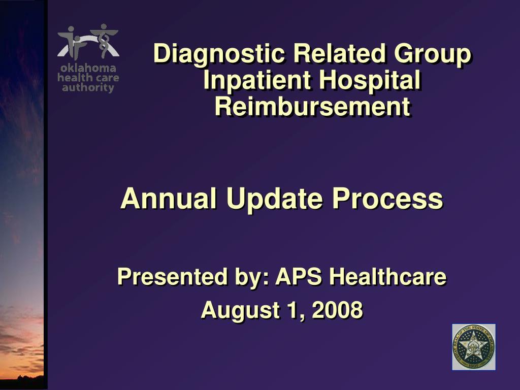 diagnostic related group inpatient hospital reimbursement l.