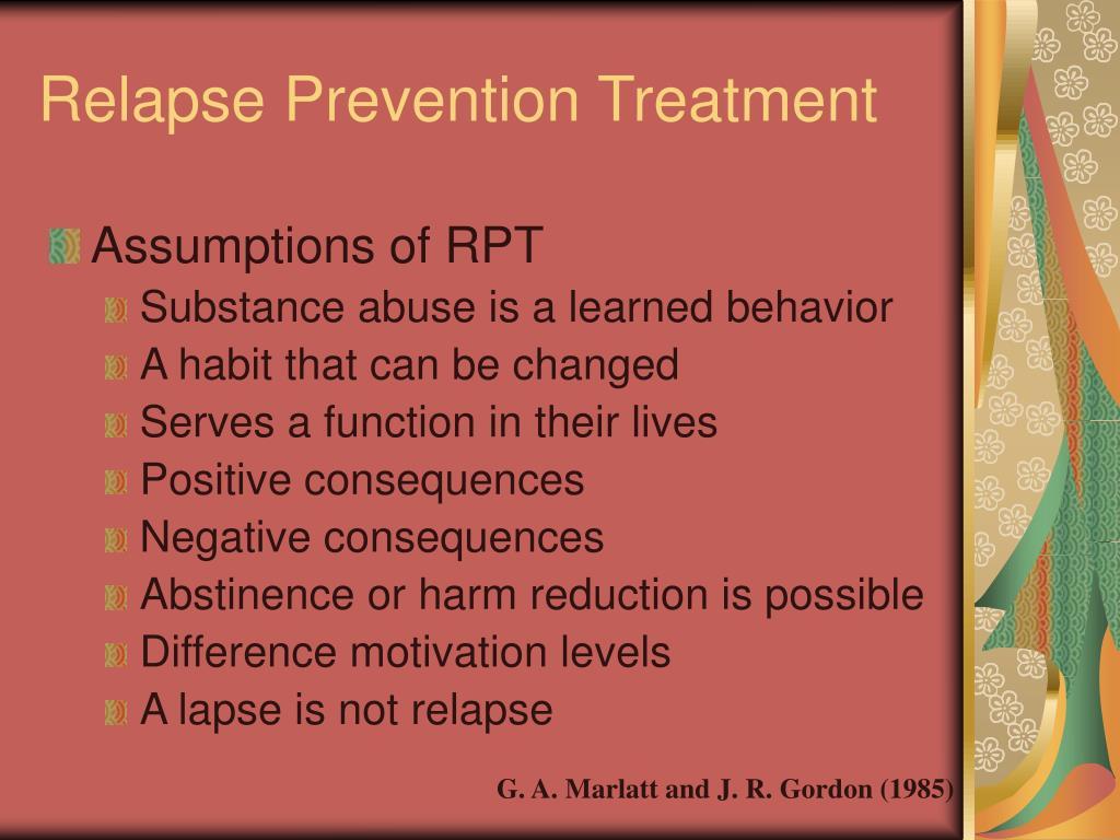 Relapse Prevention Treatment