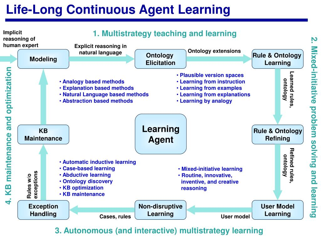 Life-Long Continuous Agent Learning