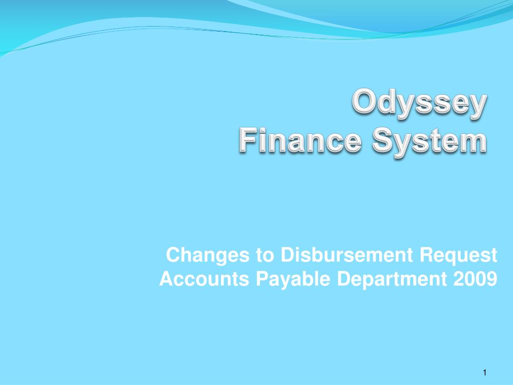 odyssey finance system l.