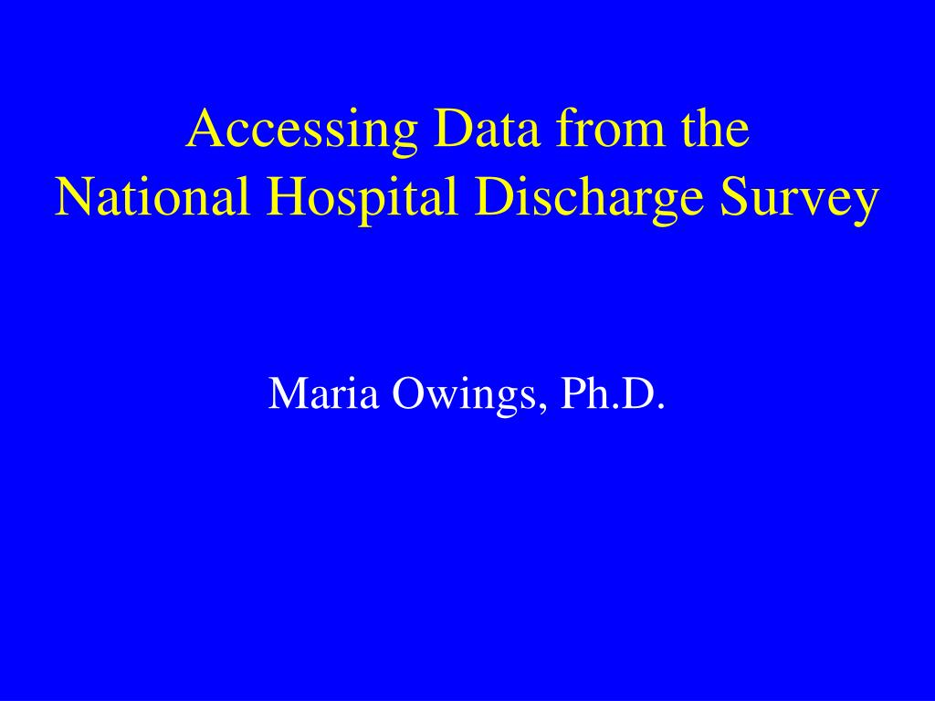 Accessing Data from the
