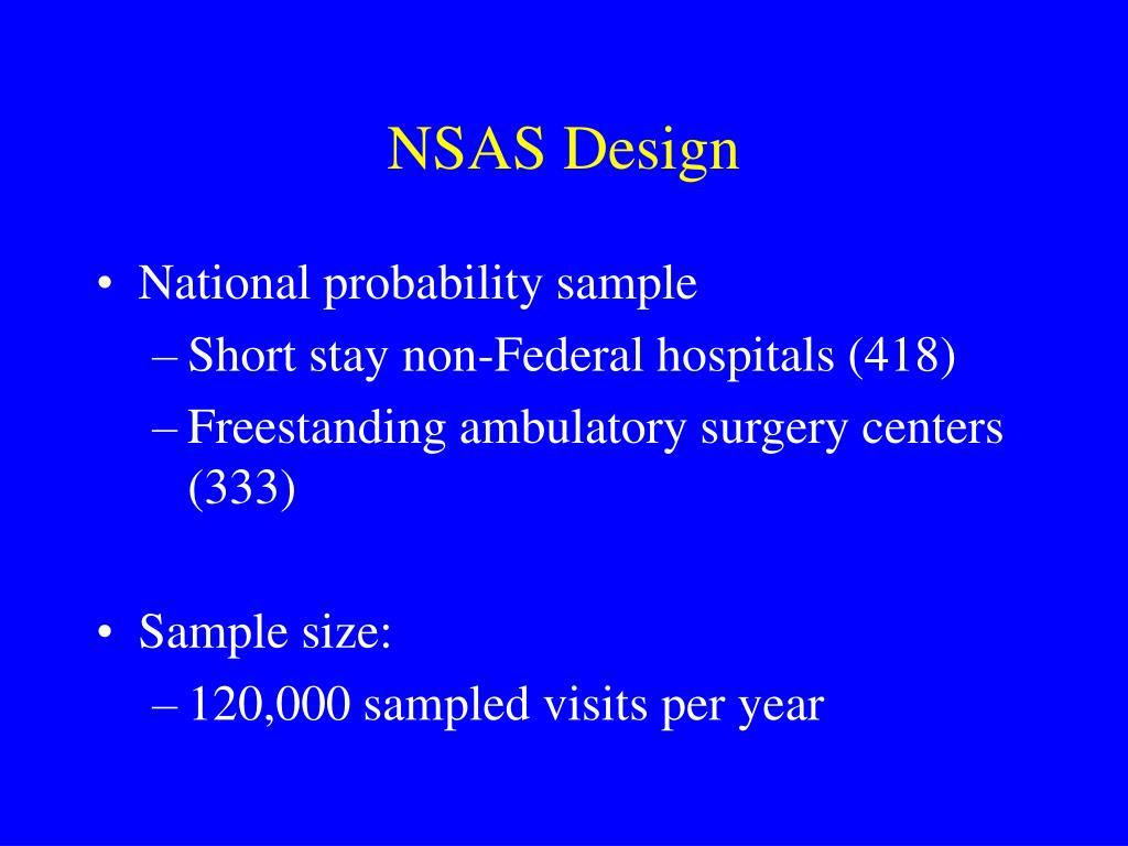 NSAS Design