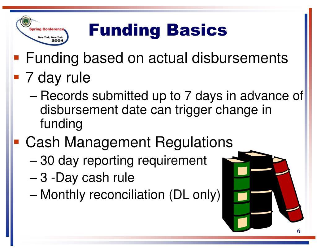 Funding Basics