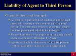 liability of agent to third person5