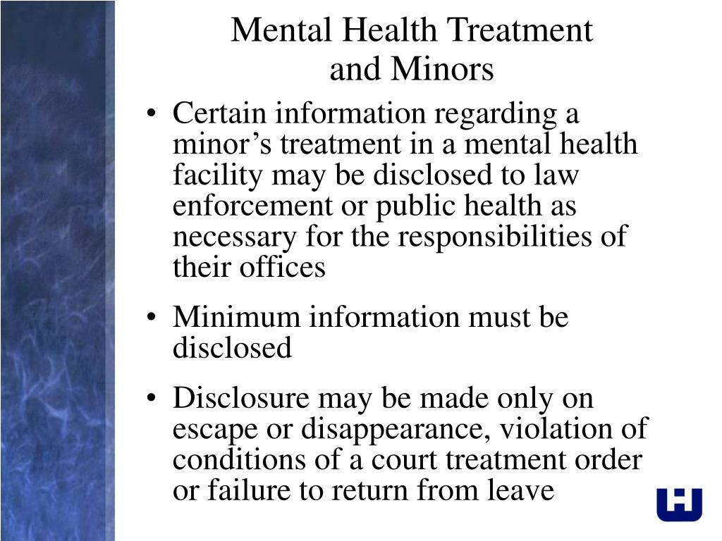 Mental Health Treatment