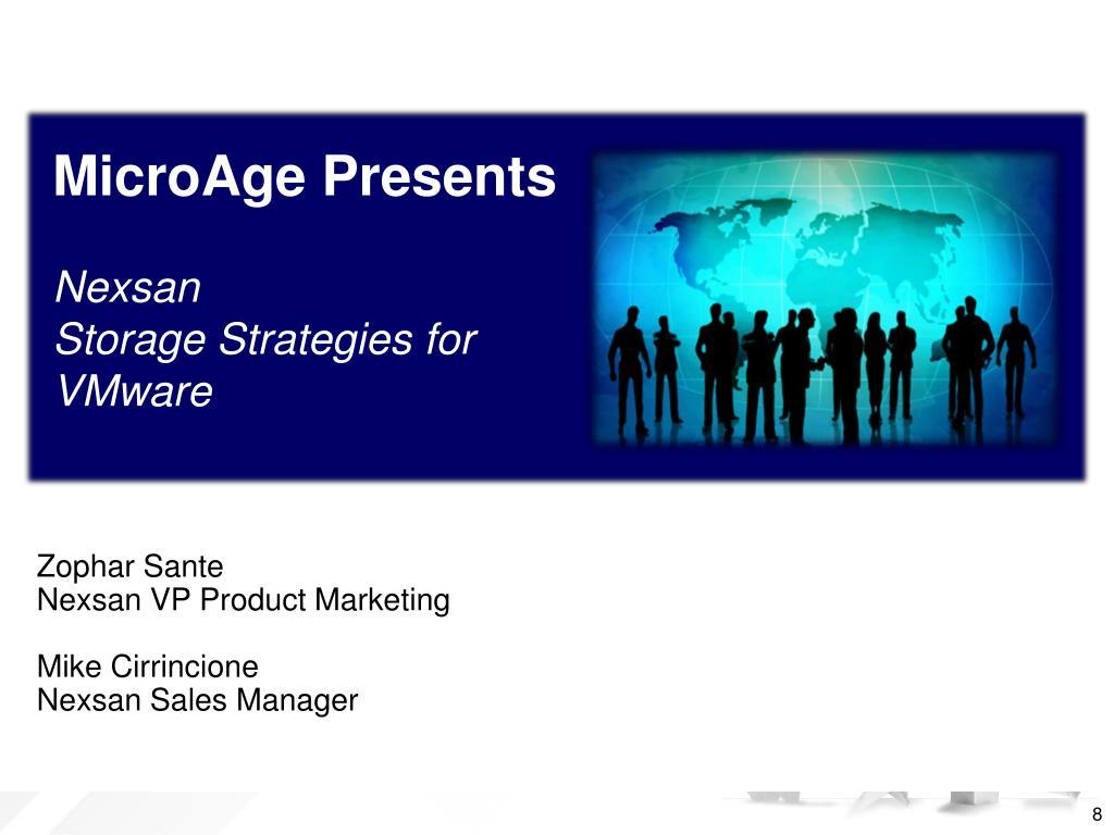 MicroAge Presents