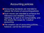 accounting policies24