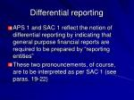 differential reporting6