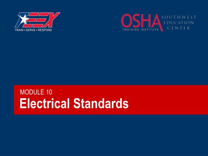 Electrical standards