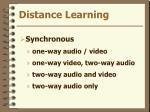 distance learning9