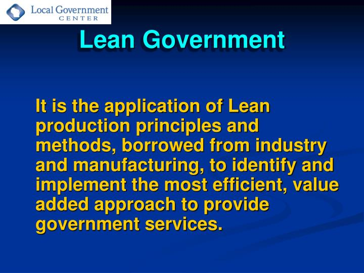 Lean government3