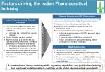 factors driving the indian pharmaceutical industry