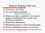 search engine sell out
