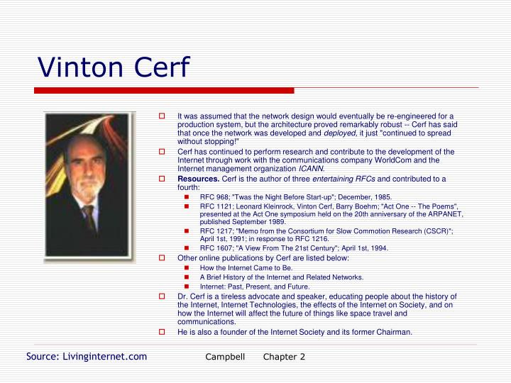Vinton Cerf