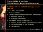 coming hipaa attractions clinical studies abroad and outsourcing