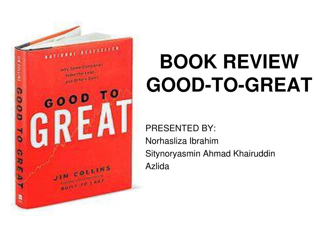 book review good to great l.