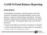 gasb 54 fund balance reporting27