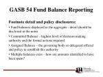 gasb 54 fund balance reporting32