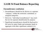 gasb 54 fund balance reporting33