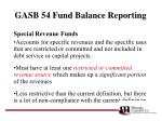 gasb 54 fund balance reporting44