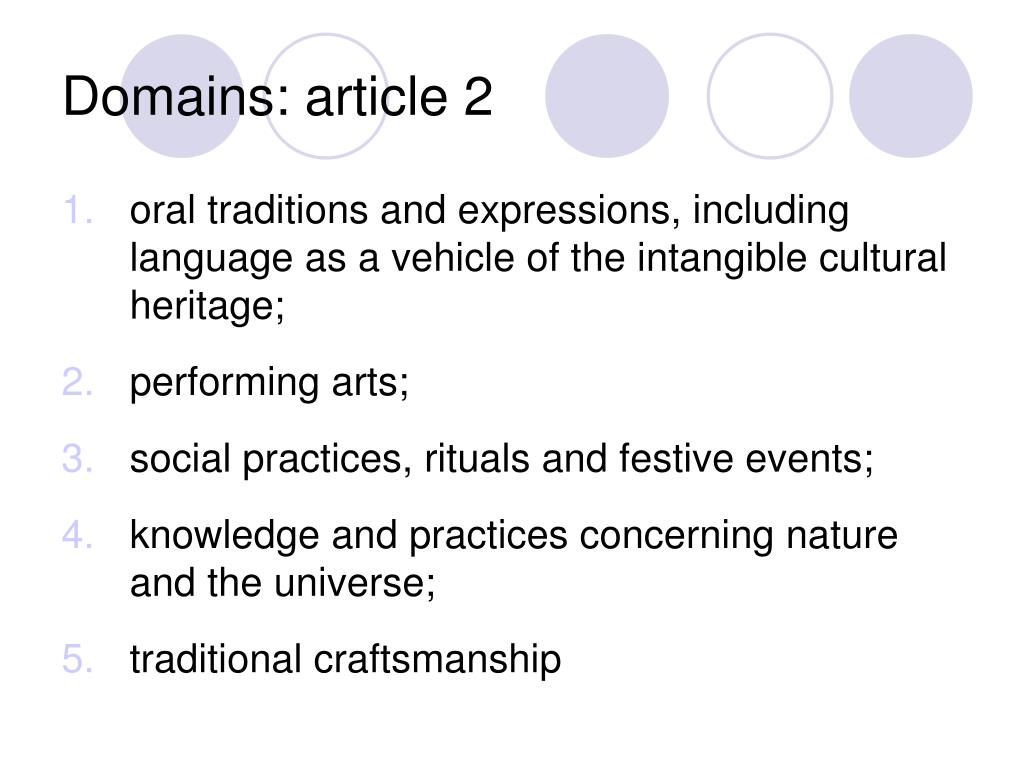 Domains: article 2