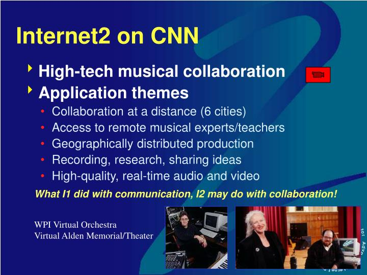 Internet2 on CNN