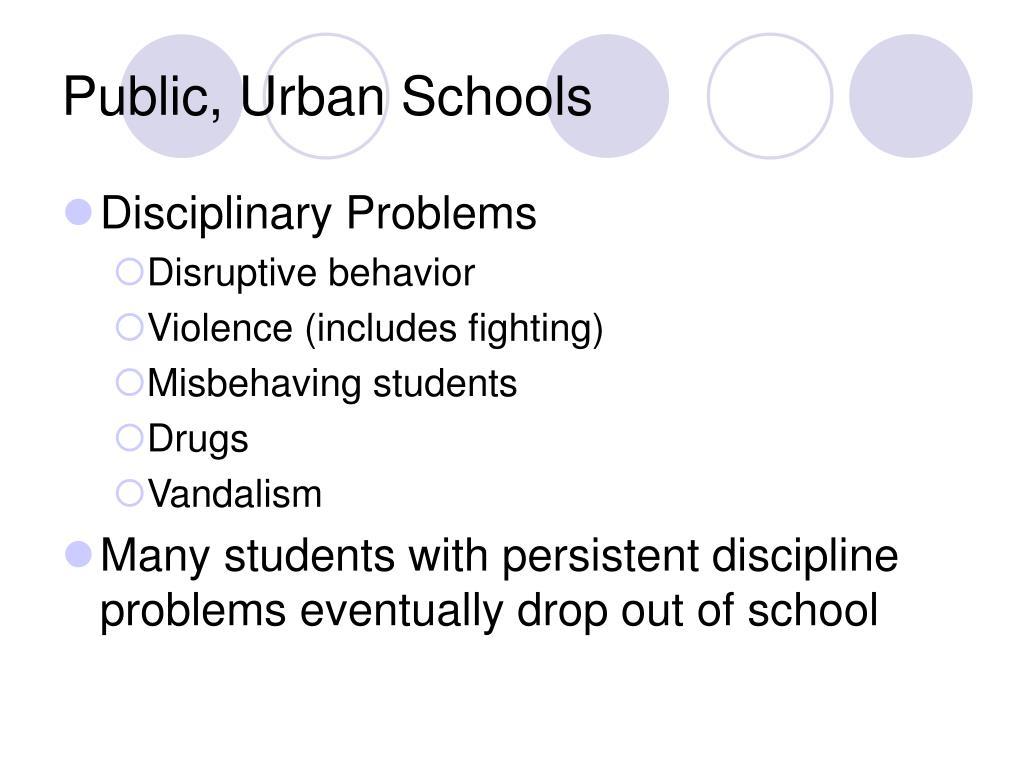 Public, Urban Schools