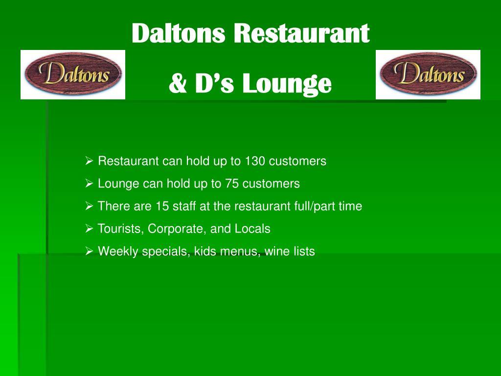 Daltons Restaurant