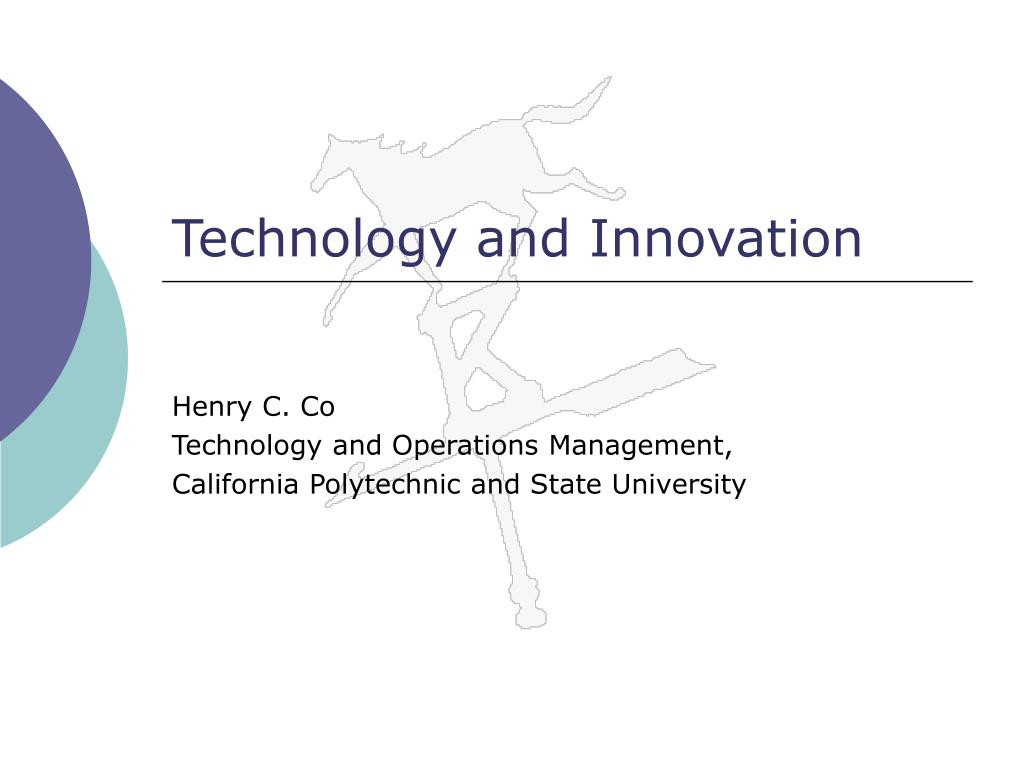 technology and innovation l.