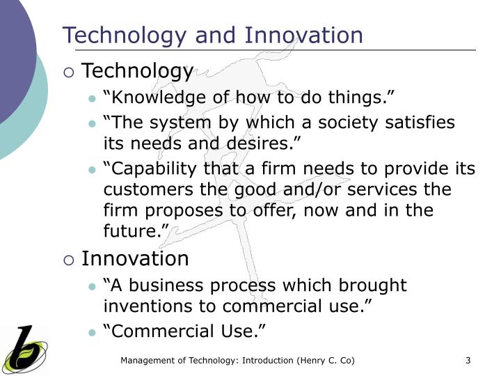 Technology and innovation3