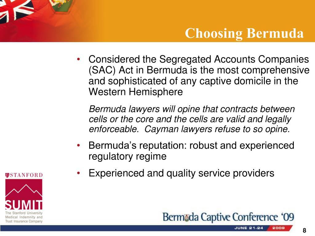 Choosing Bermuda