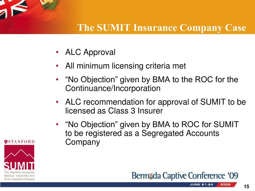 The SUMIT Insurance Company Case