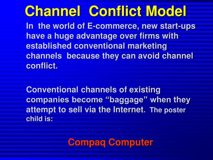 Channel  Conflict Model
